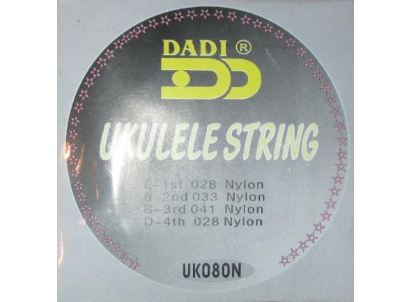 Jogos de cordas para ukulele Dadi Cordas Ukulele UK080N0N