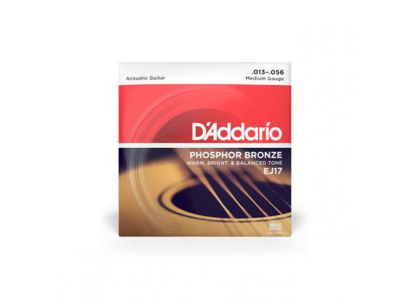 Cordas para Guitarra Acústica/Jogo de cordas .013 D´Addario  EJ17