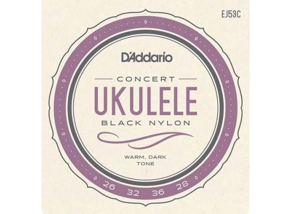 Jogos de cordas para ukulele D´Addario EJ53C ukulele