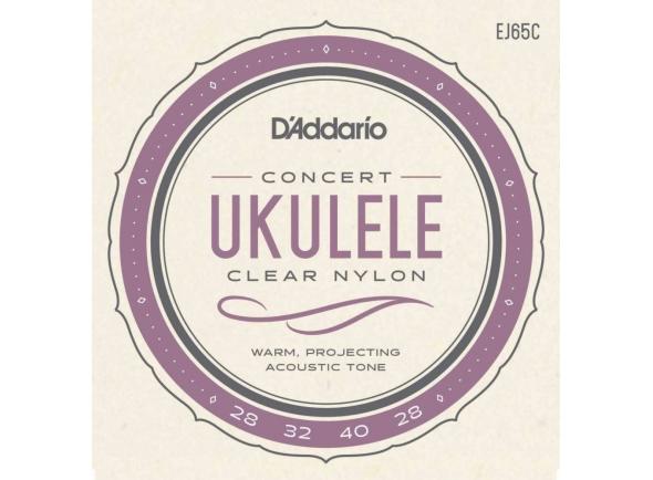 Jogos de cordas para ukulele D´Addario EJ65C