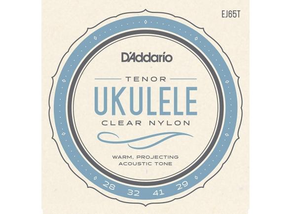 Jogos de cordas para ukulele D´Addario EJ65T