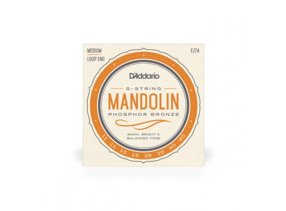 Cordas para Bandolim/Jogos de cordas para bandolim D´Addario  EJ74