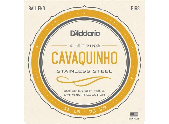 Jogos de cordas para cavaquinho D´Addario EJ93