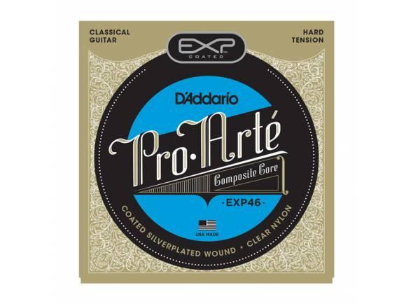 Acessórios/Jogos de cordas para guitarra clássica D´Addario EXP46