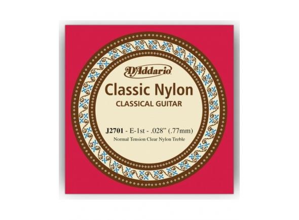 Cordas individuais para guitarra D´Addario J2701 E1 Single String