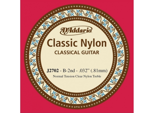 Cordas individuais para guitarra D´Addario J2702 B2