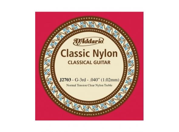 Cordas individuais para guitarra D´Addario J2703 G3