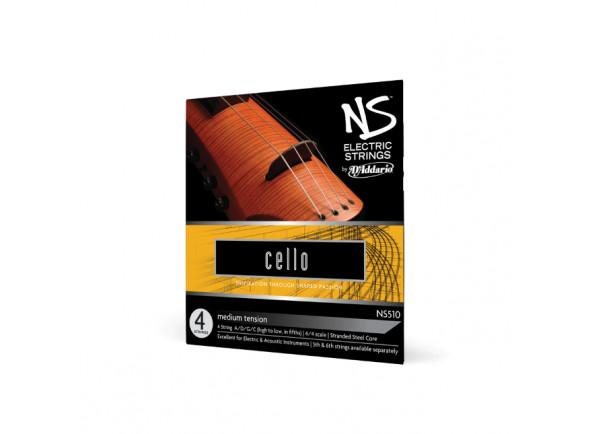 Cordas para Violoncelo/Cordas para violoncelo D´Addario  NS510
