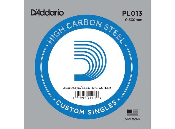 Cordas individuais para guitarra D´Addario PL013 Single String