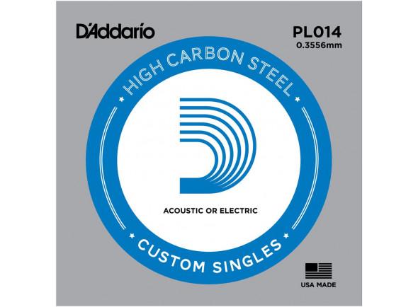 Cordas individuais para guitarra elétrica D´Addario  PL014 Single String
