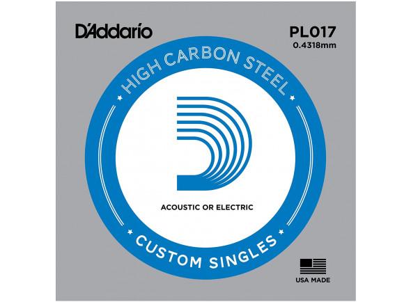 Cordas individuais para guitarra elétrica D´Addario  PL017 Single String