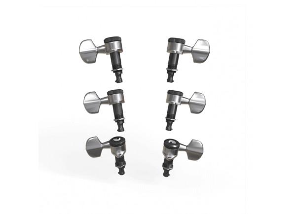 Cabeças de máquina para guitarras/Afinador D´Addario  PWAT-331L