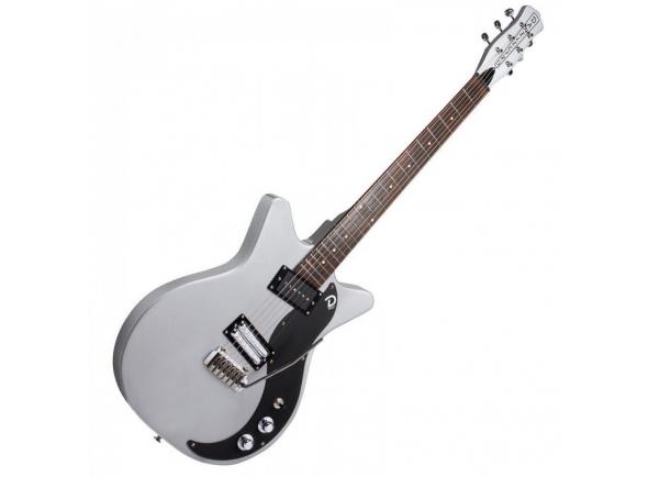 Guitarras formato Double Cut Danelectro 59 XT Silver