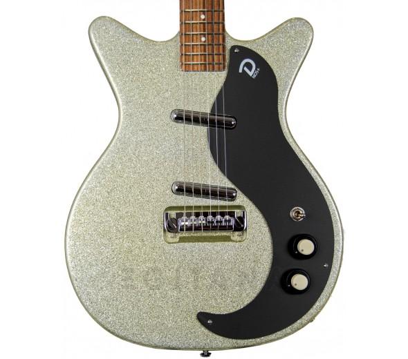 Guitarra Elétrica/Outros formatos Danelectro 59M NOS+ Silver MetalFlake 60th anniversary