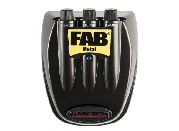 Pedal de distorção Danelectro D3 FAB Metal