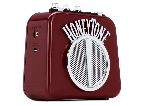 Combos a pilhas/bateria Danelectro  Honeytone N10 Burgundy