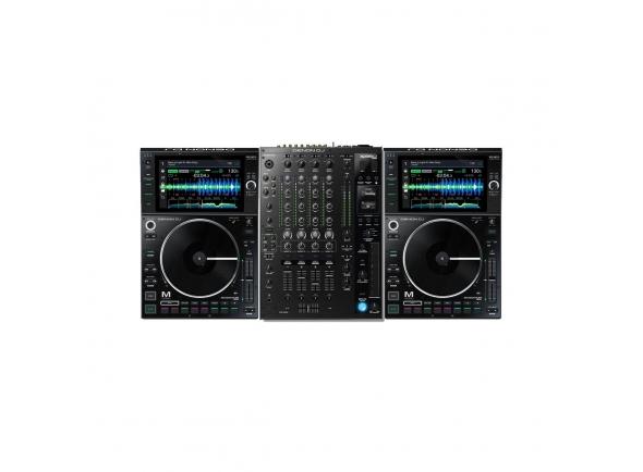 Clubmixer Denon DJ SC6000M X1850 Prime Bundle
