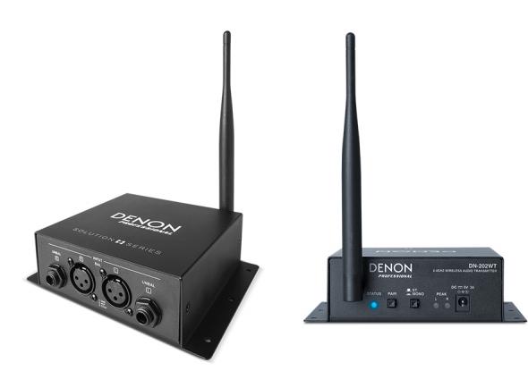 Transmissão de audio sem fio  Denon DN-202 Bundle