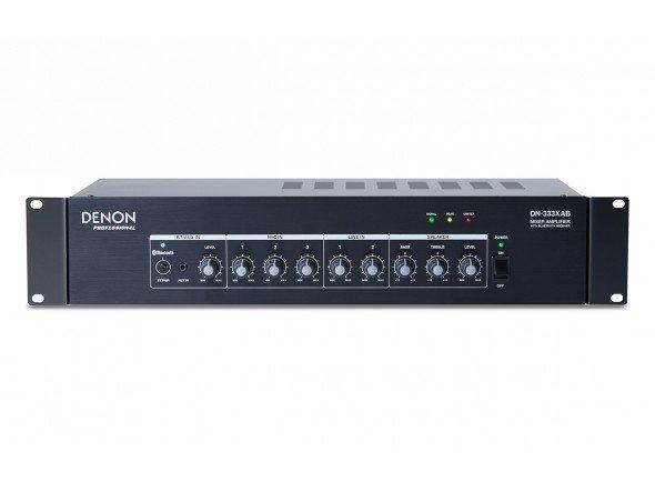 Mesas de Mistura com Amplificação Denon DN-333XAB