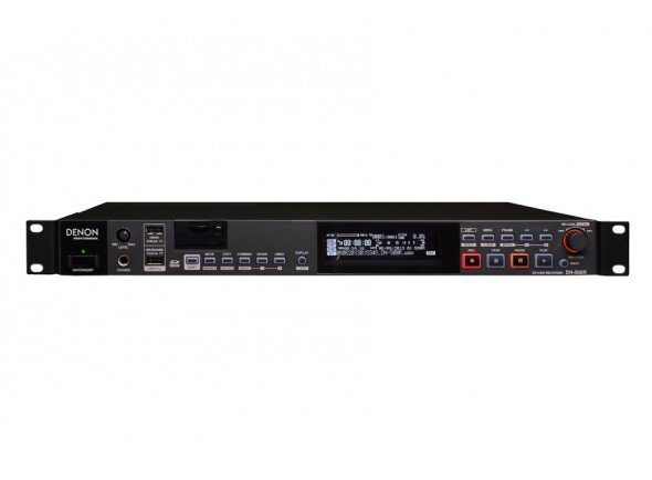 Gravadores Digitais/Gravadores Digitais Denon DN-500R