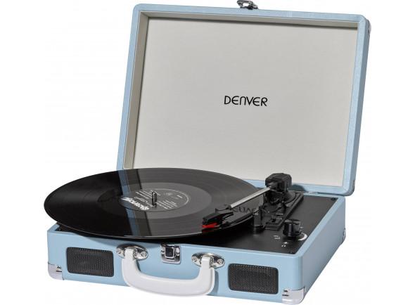 Gira-discos de alta fidelidade Denver  VPL-120 Azul