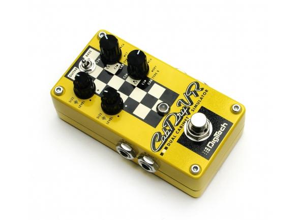 Outros efeitos para guitarra elétrica Digitech CabDryVR