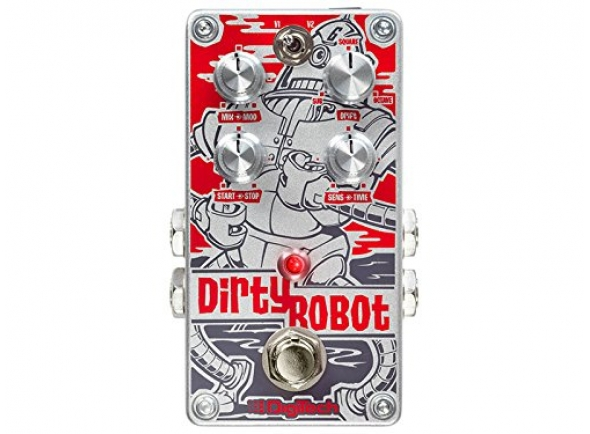 Outros efeitos para guitarra elétrica Digitech Dirty Robot
