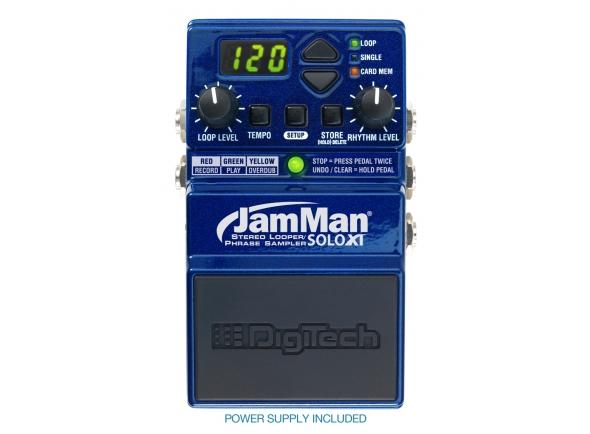 Looper Digitech JamMan Solo XT Looper/Phrase Pedal