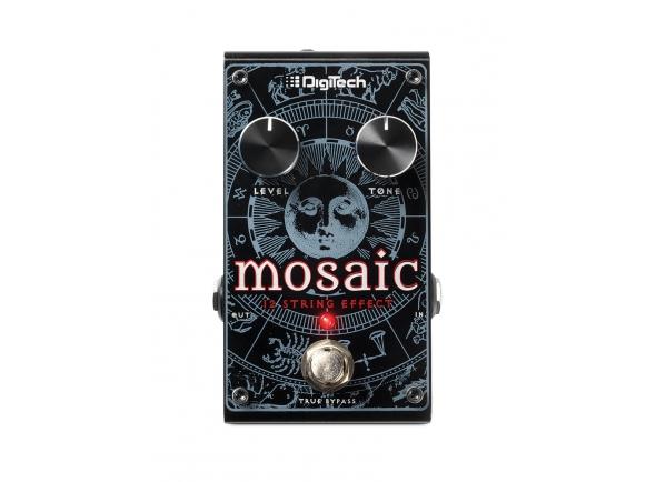 Outros efeitos para guitarra elétrica Digitech Mosaic
