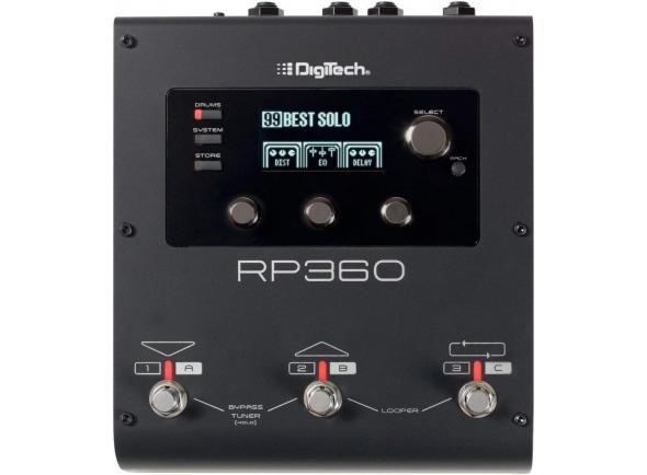 Pedaleiras para guitarra elétrica Digitech RP 360