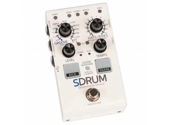 Stompboxes Digitech SDRUM Strummable Drums