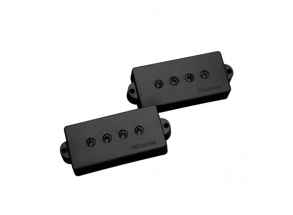 Captador P-Bass de 4 cordas DiMarzio DP122BK