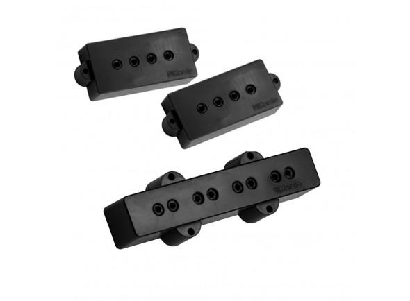 Captador P-Bass de 4 cordas DiMarzio DP126 BK