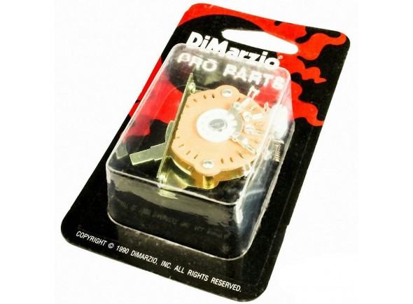 Interruptor de 3 vias DiMarzio EP1105 3-Way Pickup Selector Switch