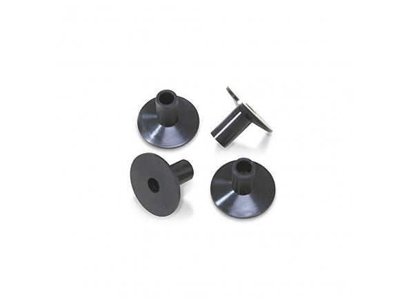 Chaves de afinação e afinadores de bateria Dixon PSYV-19C-HP Capa curta de luxo