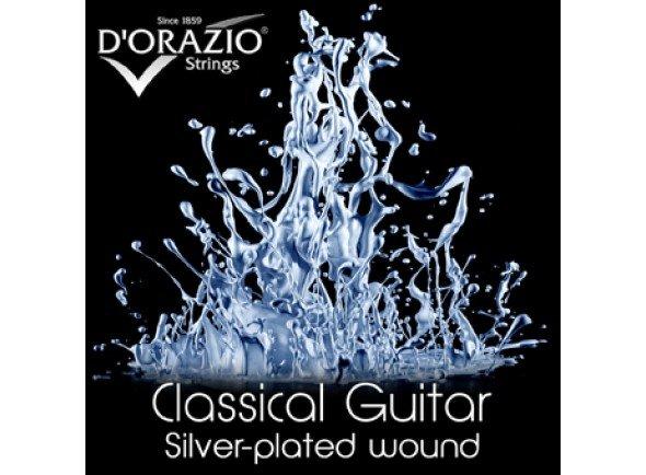 Jogos de cordas para guitarra clássica D'orazio BN642 BIO NYLON