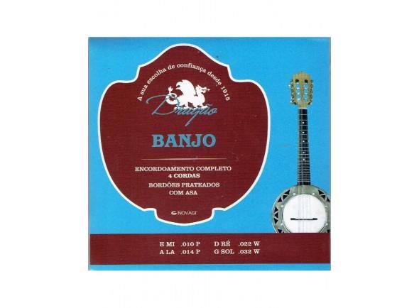Jogos de cordas para banjo Dragão 032 Banjo 4 Cordas