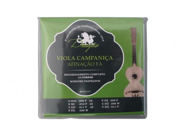 Jogos de cordas para Guitarra Portuguesa Dragão Campaniça Afinação Fá 10 Cordas