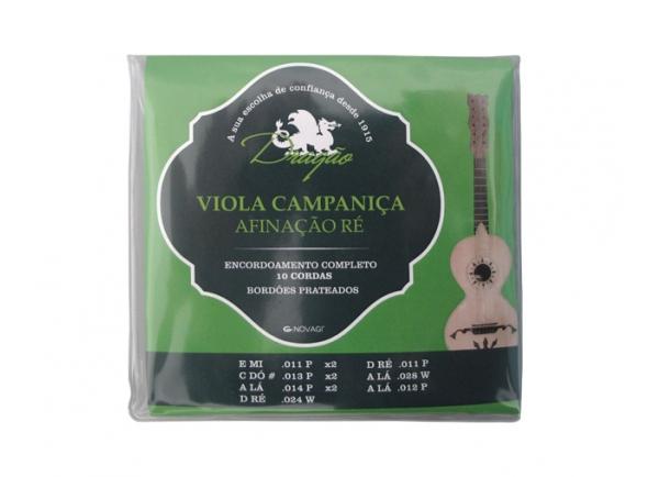 Jogos de cordas para Guitarra Portuguesa Dragão Campaniça Afinação Ré 10 Cordas