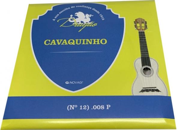 Cordas individuais para Cavaquinho Dragão CORDA CAVAQUINHO (Nº 12) .008