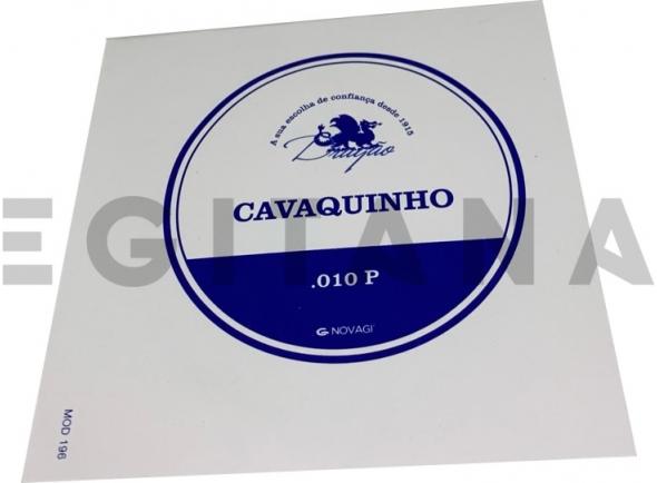 Cordas individuais para Cavaquinho Dragão Corda Cavaquinho Nº9 (.010P)