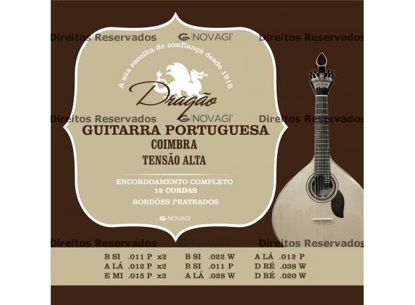 Cordas para Guitarra Portuguesa Dragão Cordas para Guitarra Portuguesa Coimbra