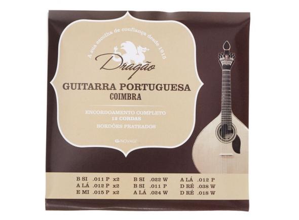 Jogos de cordas para Guitarra Portuguesa Dragão Guitarra Portuguesa Coimbra S