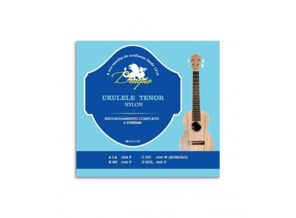Jogos de cordas para ukulele Dragão UK064 Ukulele Tenor