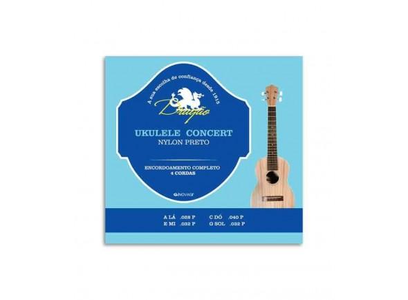 Jogos de cordas para ukulele Dragão UK065 Ukulele Concerto