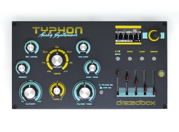 Módulos de som Dreadbox Typhon