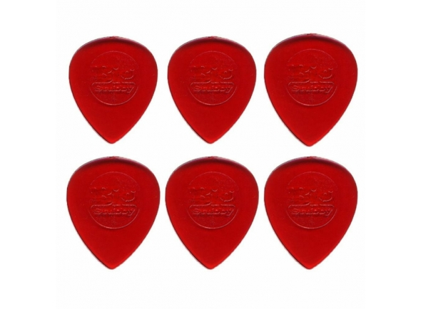 Palhetas para guitarra Dunlop Big Stubby 1.00