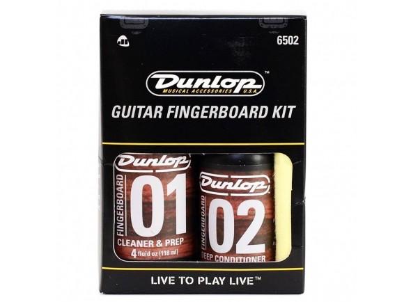 Produtos de limpeza para guitarra Dunlop Formula 65 Finger Board Care Kit