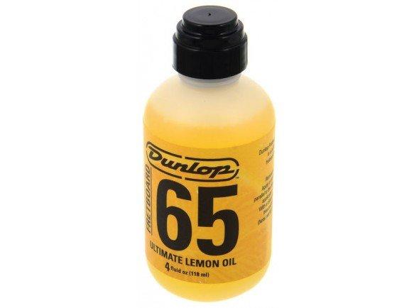 Fretboard Ultimate Lemon / Lemon Oil/Produtos de limpeza para guitarra Dunlop Formula 65 Lemon Oil