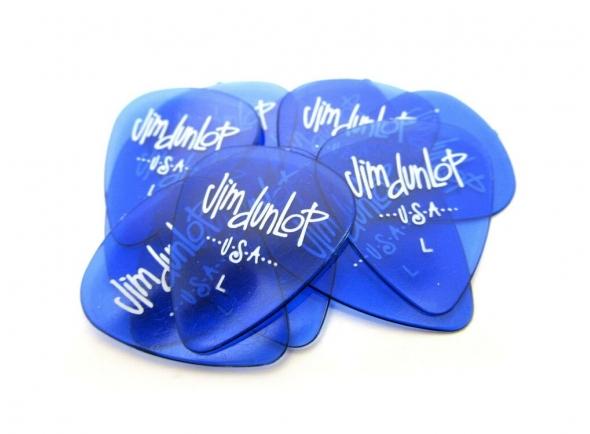 Palhetas para guitarra Dunlop Gels 12 Pick Pack Light, Blue